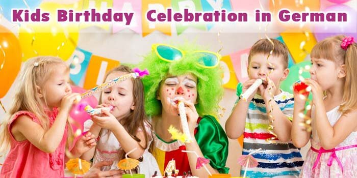 Celebrating Kids Birthday in German Style and its Etiquette