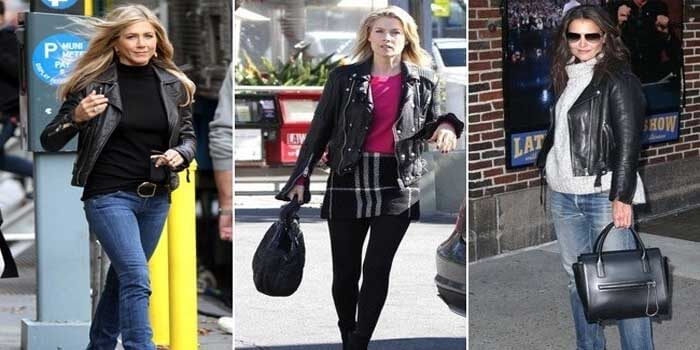 New trends in leather coats which made news this Fall