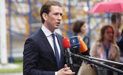 "Sebastian Kurz is ""for"" the fight against anti-Semitism"