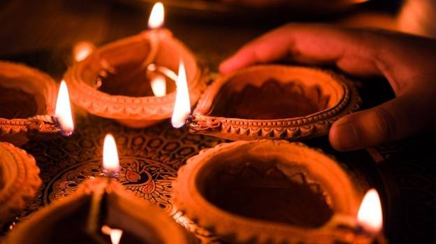 1. Diwali, Festival of lights, 5 days celebration