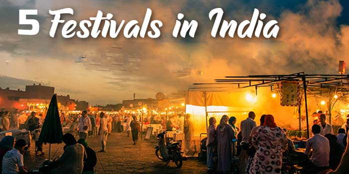 5 Festivals in India with the longest Celebration in 2019/2020