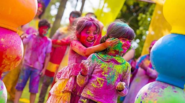 Holi, Festival of Colours, 3 days celebration