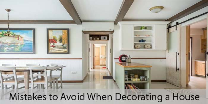7 Mistakes to Avoid When Decorating a Small House