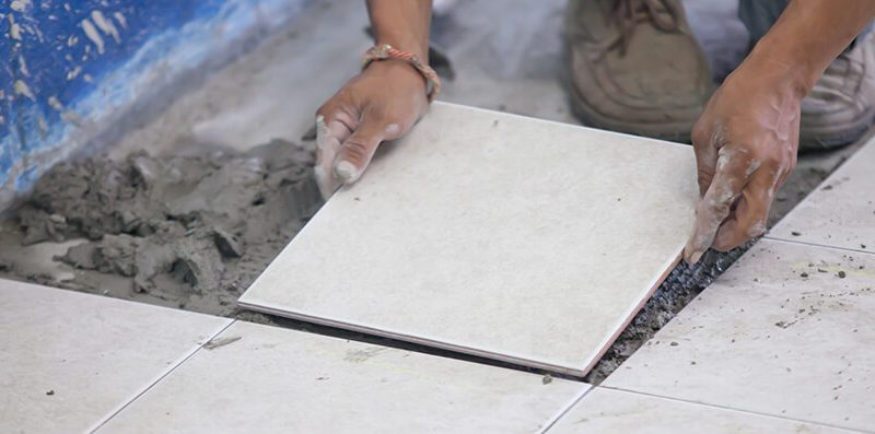 How to Fix Loose Tile