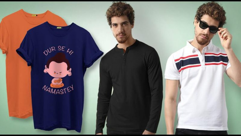Benefits of Having T-Shirts for Men in Your Closet