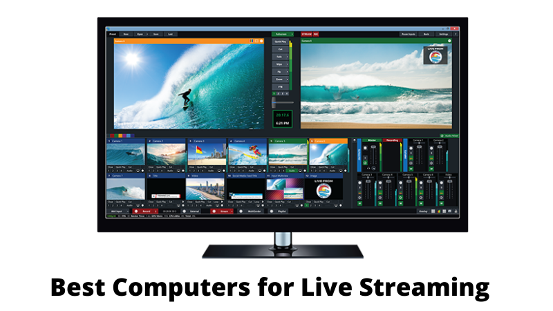 PC for Streaming: 4 Best Computers for Live Streaming
