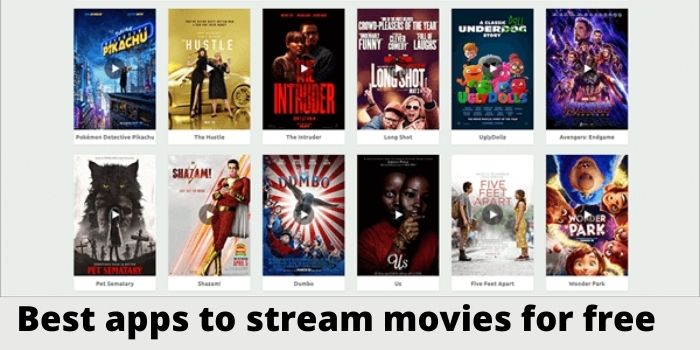 Top 10 apps to streaming free movies