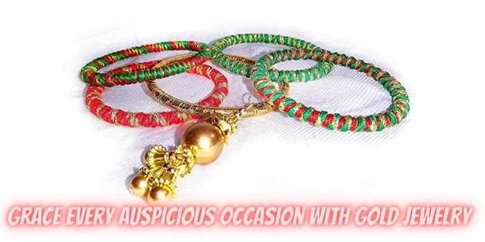 Grace Every Auspicious Occasion with Gold Jewelry