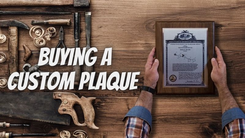 Thinking About Buying A Custom Plaque? Here's What to Know
