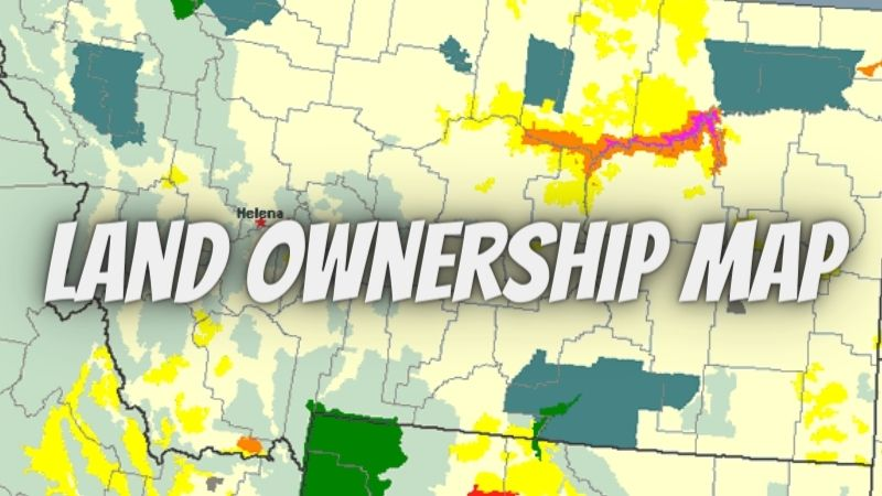 What is a land ownership map, and where can I buy one?