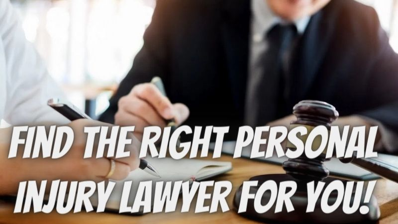 Best Guide to Find the Right Personal Injury Lawyer For YOU!