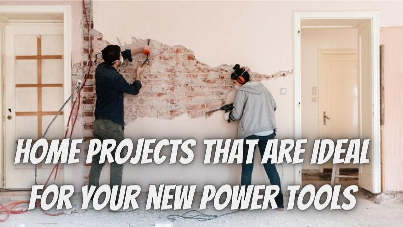Three at-home projects where you can use your new power tools!