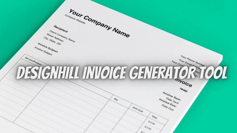 Designhill Invoice Generator: A Free To Use Business Invoicing Tool