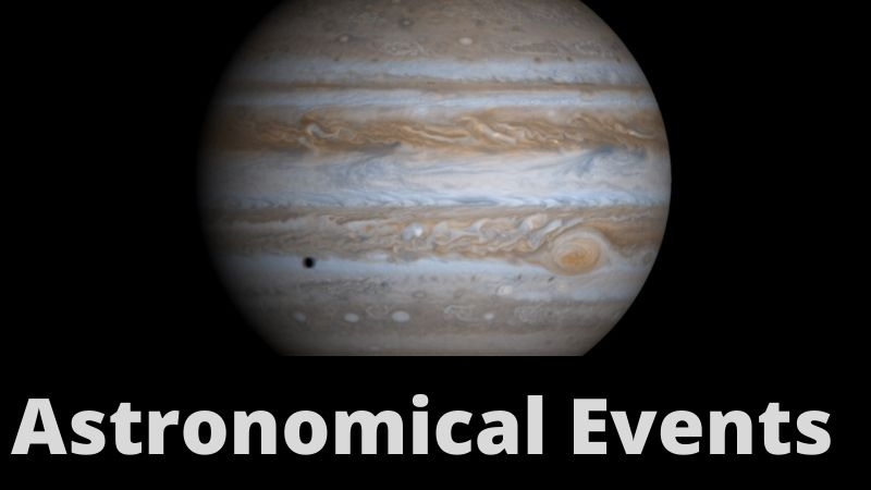 Astronomical Events in August 2021: Jupiter at Opposition – August 19