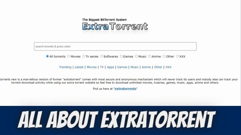 Best ExtraTorrent Proxy & Alternatives/Mirrors to Unblock ExtraTorrent in 2021